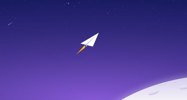 Paper Planes from Space