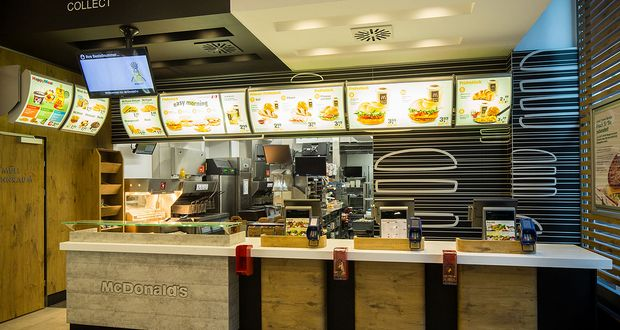 Austrian McDonald's