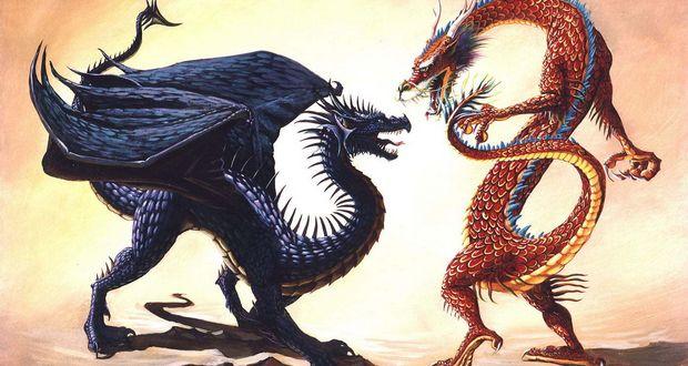 Western vs Eastern Dragons