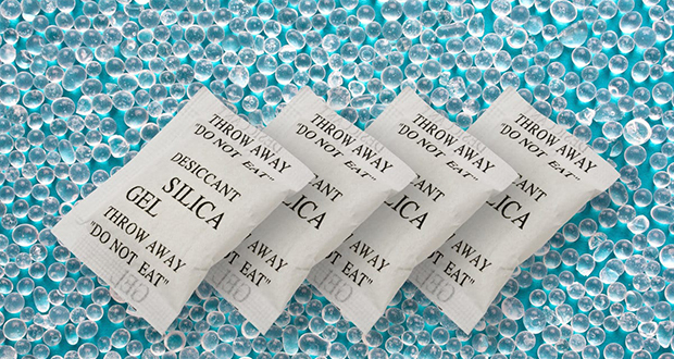Colored Silica Gel Packets