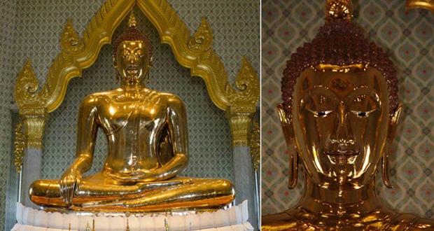 Plaster Buddha Statue