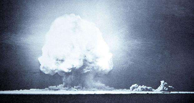 Atomic bomb testing