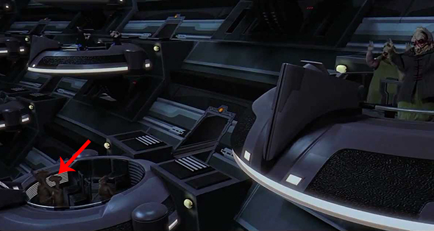 Galactic Senate scene
