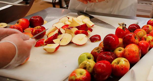 McDonald's apples