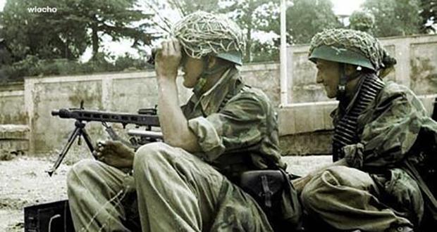 WW2 helmets