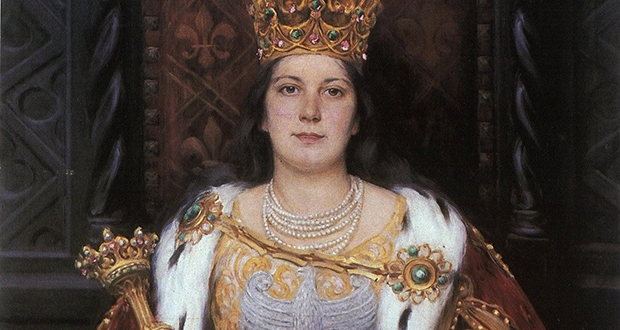 """King"" Jadwiga of Poland"