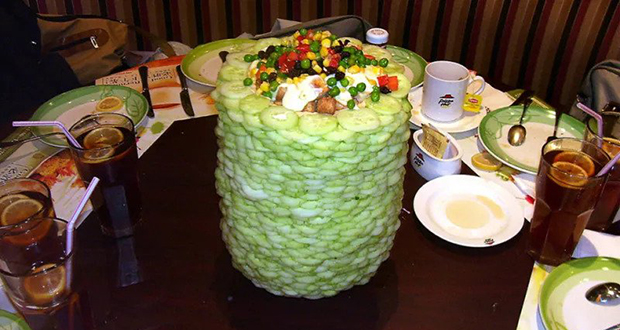 Salad Towers