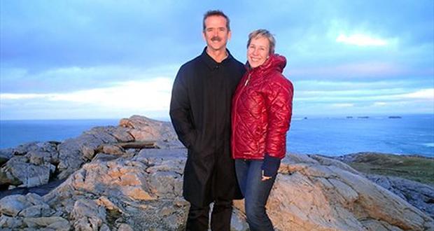 Chris Hadfield's wife