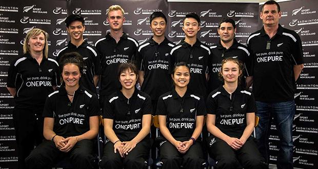 New Zealand badminton team