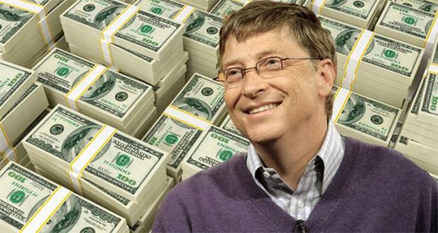 Bill Gates' wealth