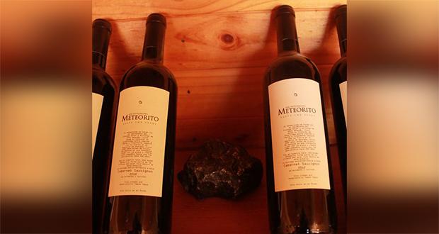 Meteorite wine