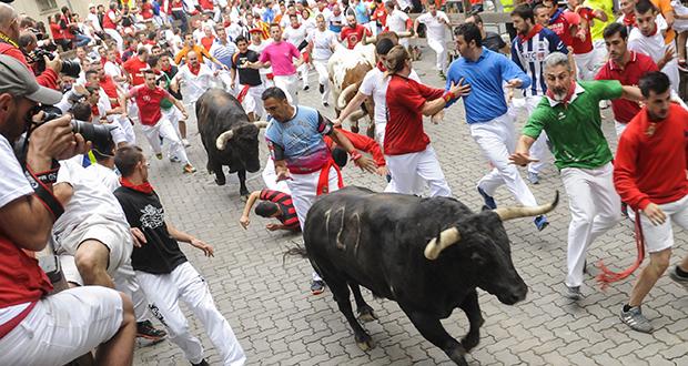PamplonaRunning of the Bulls