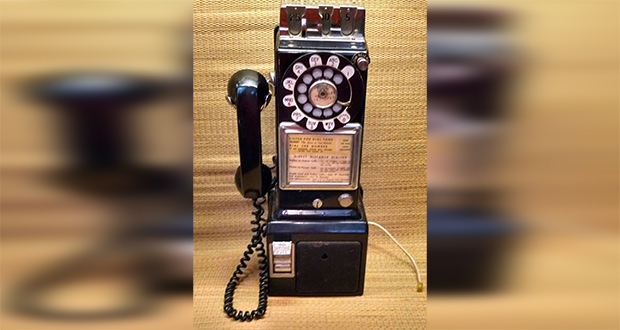 Rotary payphones