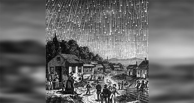 1833 meteor storm