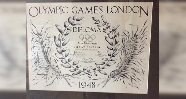Olympic diplomas
