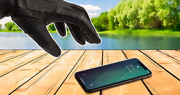 Thief's phone