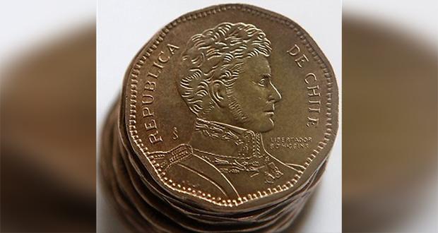 Chile peso coins