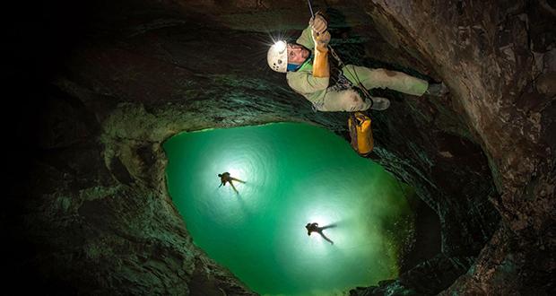 Veryovkina Cave
