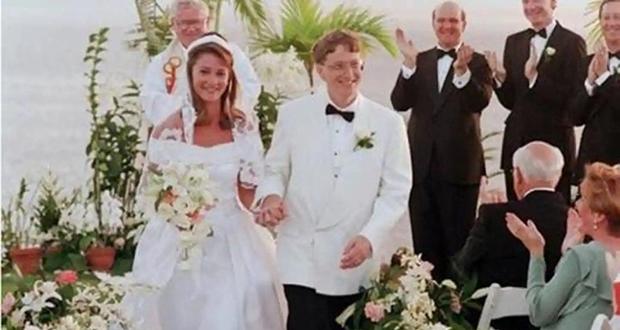 Bill Gates' wedding