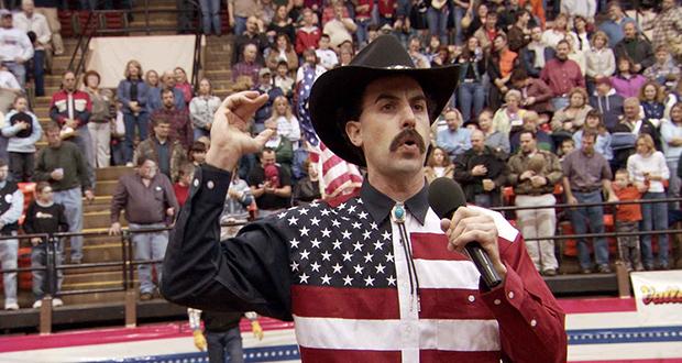 Borat riot