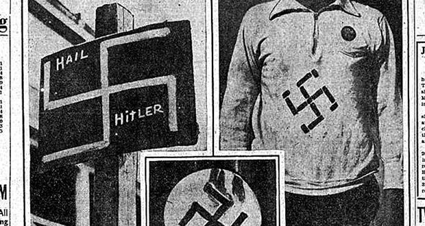Nazi riot