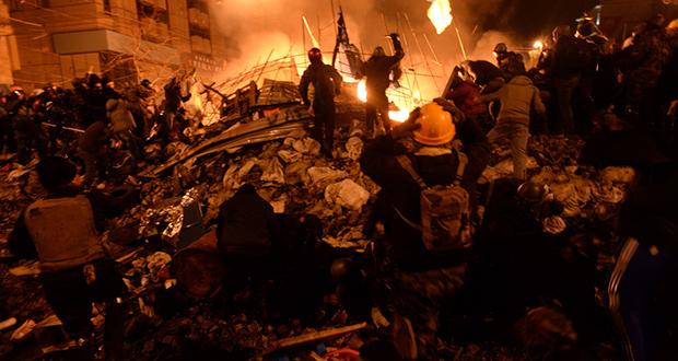 Ukraine Riots