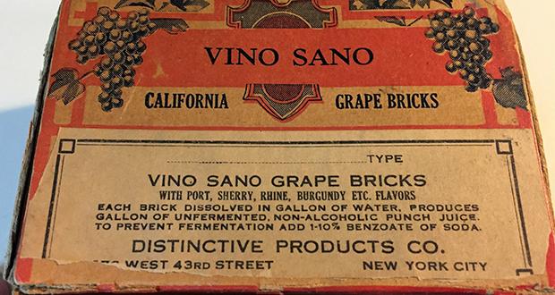 Wine bricks