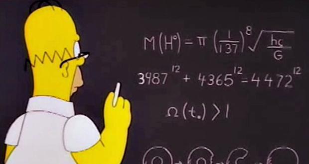 Simpsons' maths