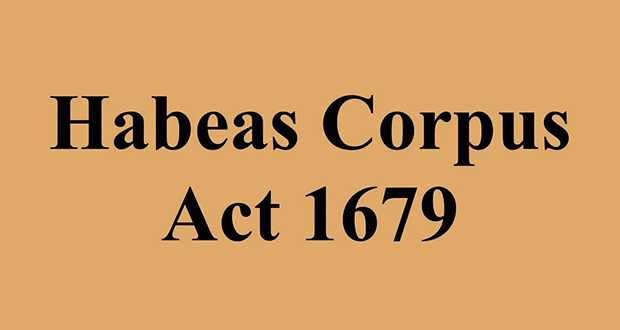 Habeas CorpusAct