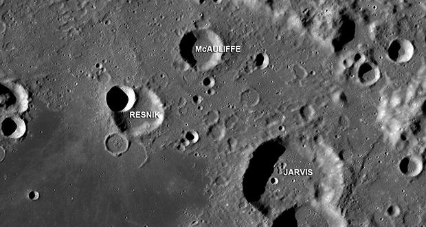 McAuliffe crater