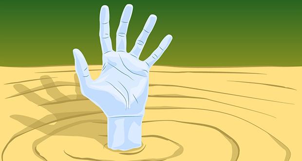 Quicksand trope