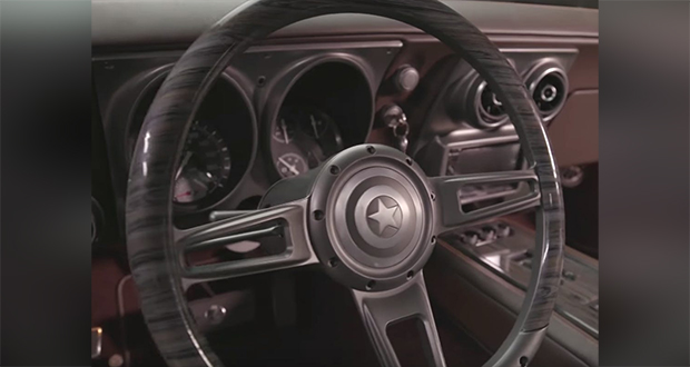 Custom-designed car