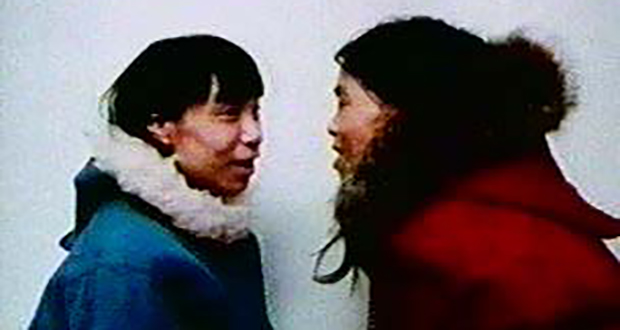Inuit song duel