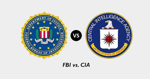 FBI and CIA