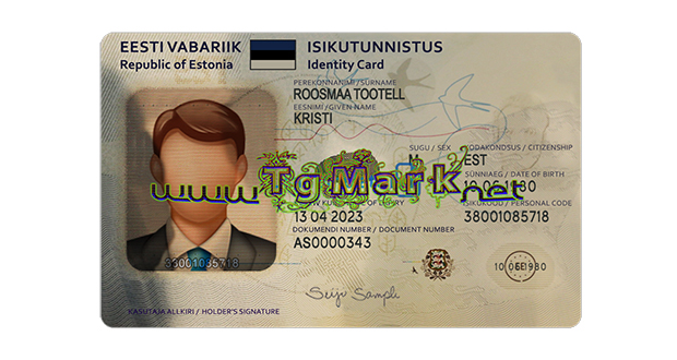 Estonian ID card