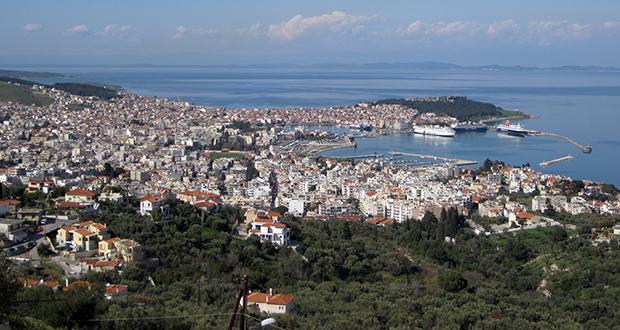 Lesbos island