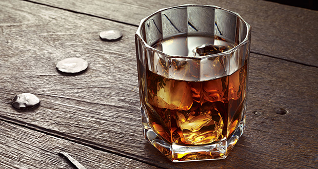 Whiskey drinking