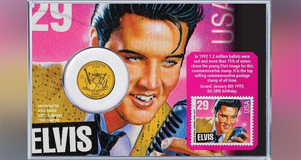 Elvis Postage Stamp