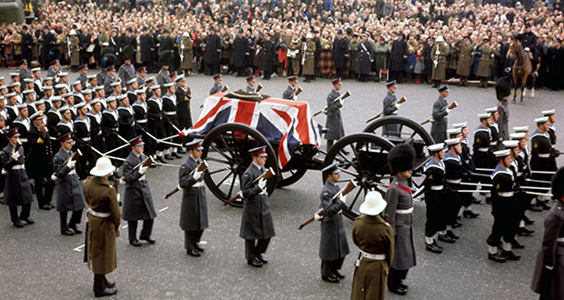 Winston Churchill's State Funeral