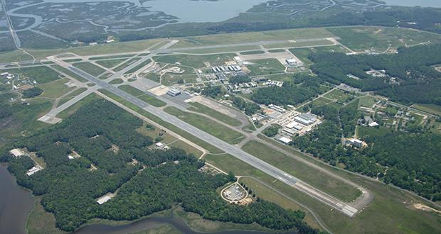 NASA flight facility