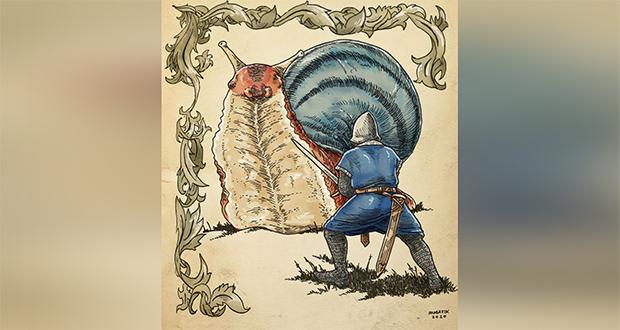 Knights Vs. Snails