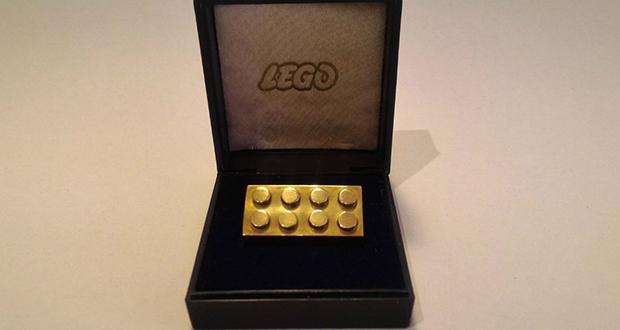 Golden Lego Brick