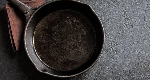 Washing Cast Iron Pan