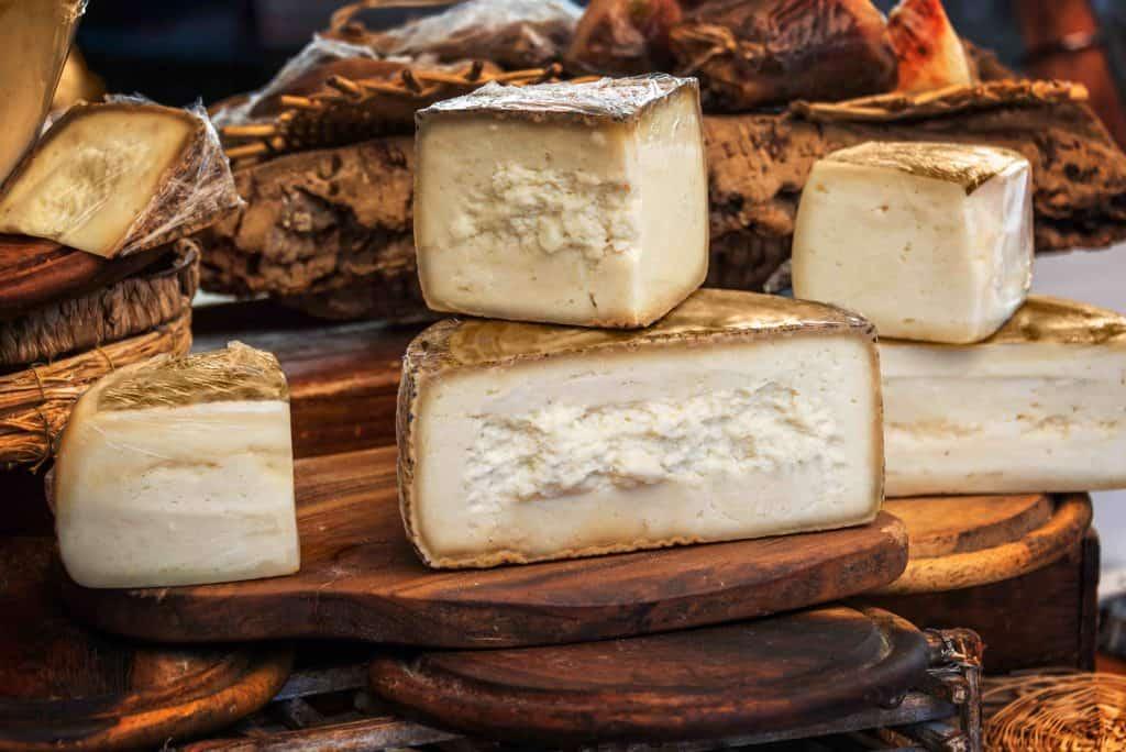 Italian pecorino cheese