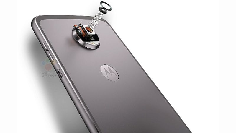 Leaked Pictures of Moto Z2 Play Discloses a Lot About the Phone