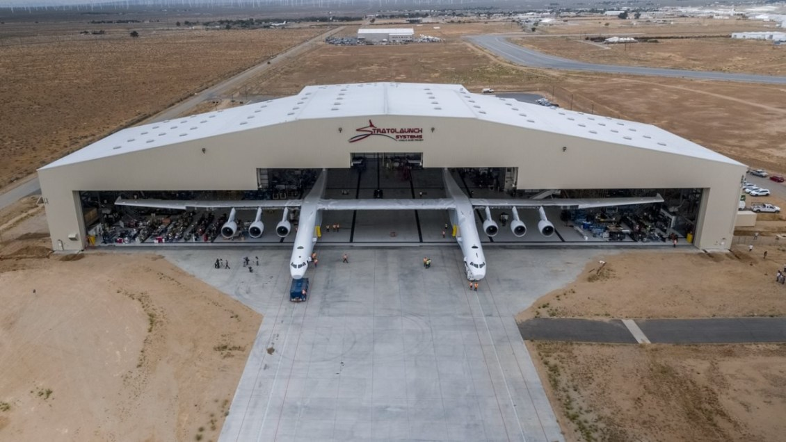 Stratolaunch Aircraft