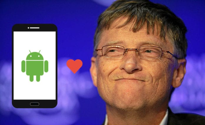 Bill Gates has gone Android, have you?