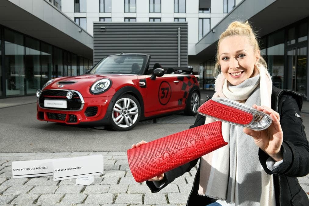 Mini to increase personalisation via the use of 3D printing