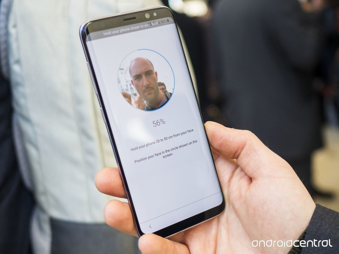 Image: Facial Recognition/ androidcentral.com