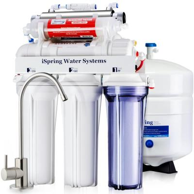iSpring RO Water Filter (UV) RCC7AK-UV